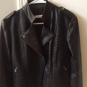 NWT Robert Graham Softest Leather Moto Jacket $698